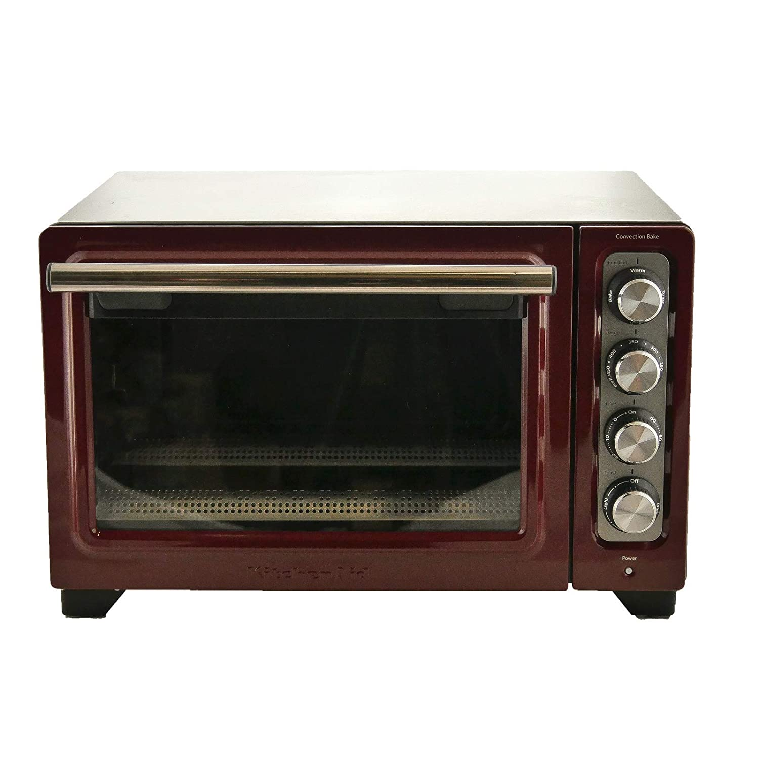 KitchenAid RKCO253GC 12 Inch Counter Top Oven Gloss Cinnamon - (Certified Refurbished) (Renewed)