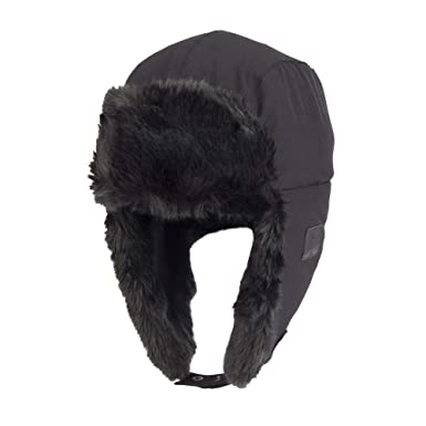 Amazon.com  Exact Fit Men s Trapper Hat with Bluetooth Heaphones ... e7139bacc22