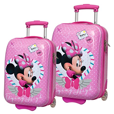 Disney Minnie Set de Maletas, 48/55 cm, 59 litros, Rosa ...