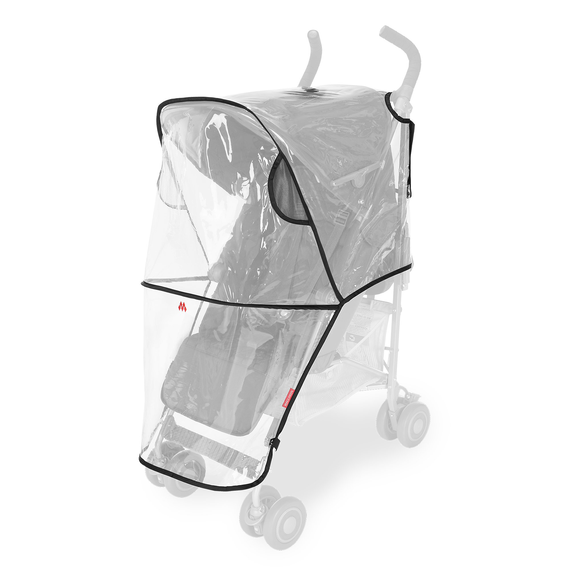 Maclaren Universal Raincover- Protects from rain, Wind and Snow. Fastens Quickly, Easily to All Maclarens and All Umbrella-fold Single Stroller Brands. Phthalate PVC Free by Maclaren