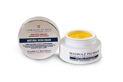 Natural Rich Cream – Hidratante Antiarrugas natural Bio con alta concentración de Vitaminas A E C y Zinc