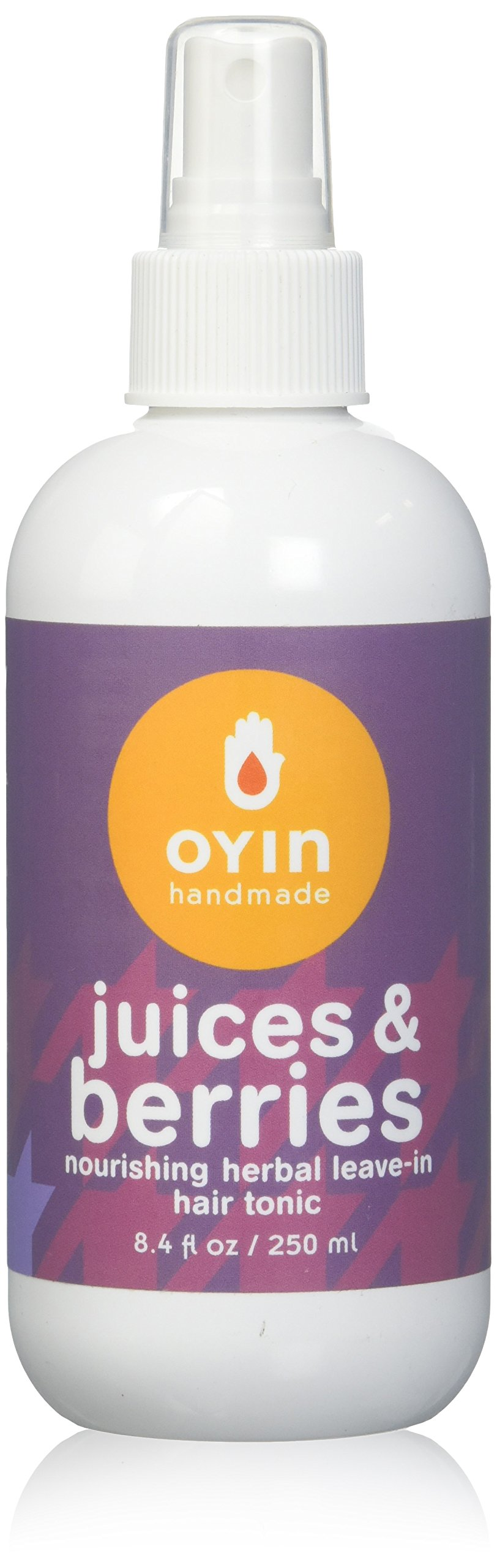Oyin Handmade Juices and Berries Herbal Leave-In Hair Tonic, 8.4 Ounce