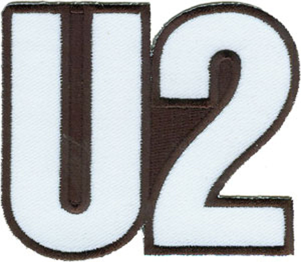 U2 Logo, Officially Licensed Original Artwork, High Quality Iron-On / Sew-On, 3' x 2.2' Embroidered PATCH Flicken 3 x 2.2 Embroidered PATCH Flicken Officially Licensed & Trademarked Products P-3264