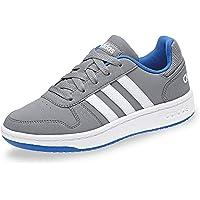 Adidas Hoops 2.0, Zapatos de Baloncesto Unisex Niños