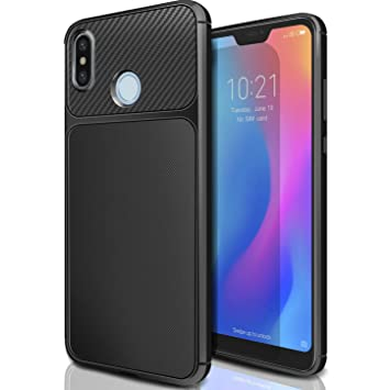 AROYI Funda para Xiaomi Mi A2 Lite, Carcasa Soft Slim Flexible Back Bumper Antigolpes TPU Silicona Gel Espalda Case Cover para Xiaomi Mi A2 Lite/Redmi ...
