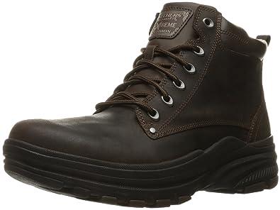 ed8024764d428 Amazon.com | Skechers USA Men's Holdren Norman Chukka Boot | Chukka