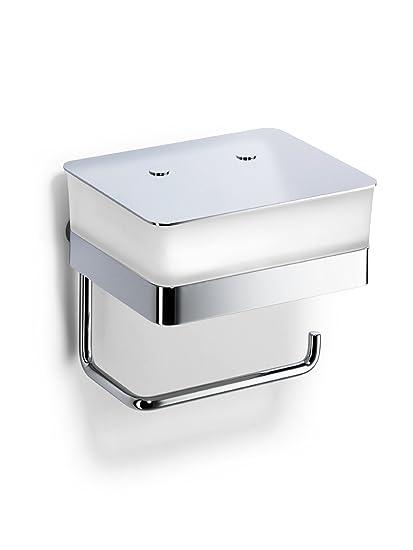 Giese 31770-02 WC-Duo - Dispensador de papel higiénico (con depósito para