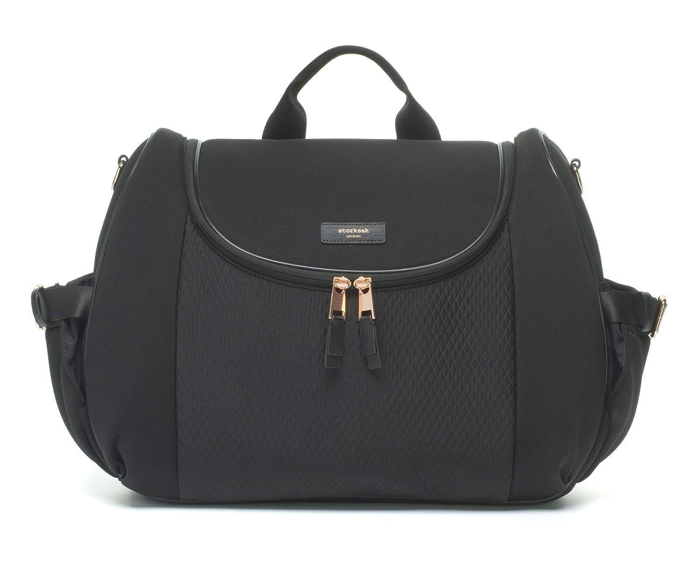 df060fc911f42 Amazon.com : Storksak Poppy Convertible Backpack Diaper Bag, Charcoal : Baby