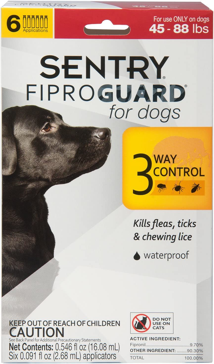 Sentry Fiproguard Topical Flea and Tick