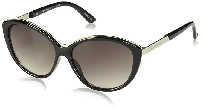 32d4d2ace5bd Image Unavailable. Image not available for. Color: Lucky Women's Topabla58 Cateye  Sunglasses ...