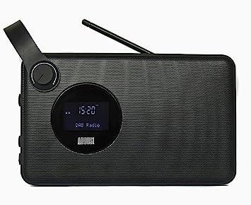 August MB415 – Radio Alarma con Altavoz Bluetooth NFC – Altavoz Inalámbrico para dispositivos Bluetooth con Radio FM/DAB+/DAB – Lector USB y Tarjetas ...