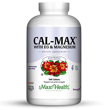 Maxi salud Cal-Max Calcio Citrato con Vitamina D3 y Magnesio