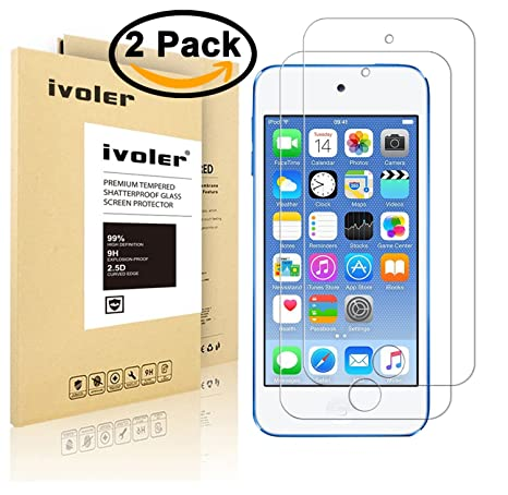 Review ivoler [2 Pack] [Tempered
