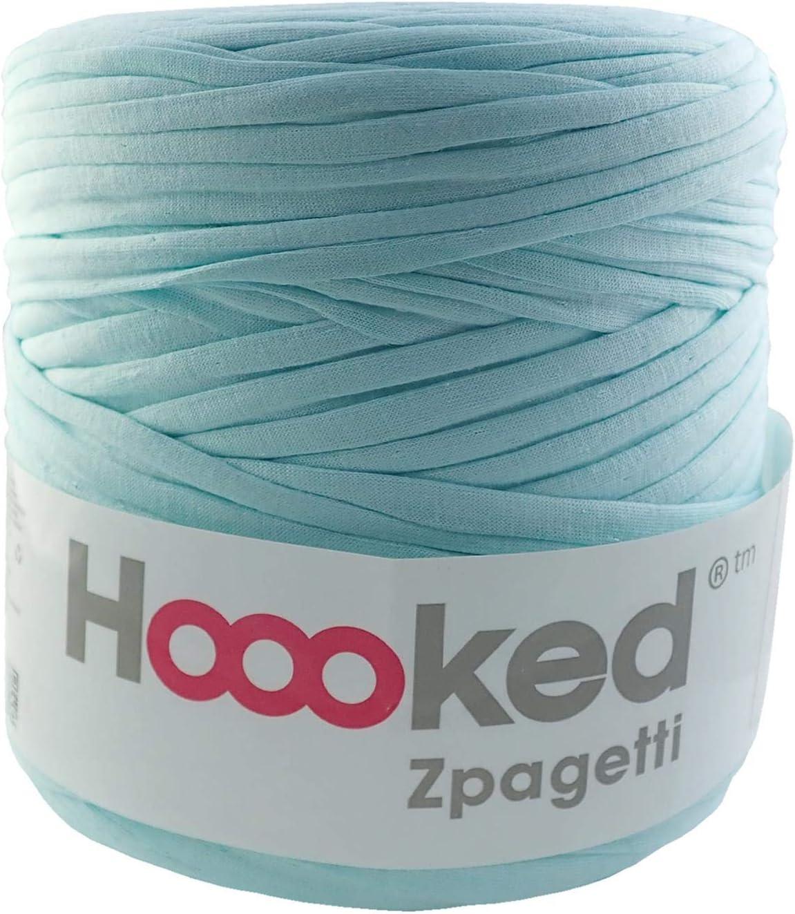 120 m Ovillo de lana para camiseta 700 g Hoooked Zpagetti