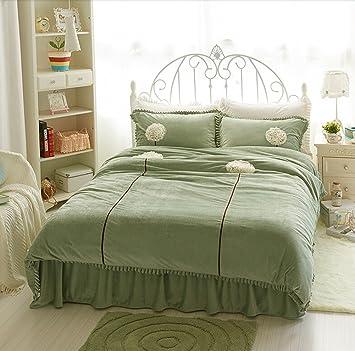 Luk Oil Home Textile Princess Bettbezug Sets Und Spitzenmuster Bett