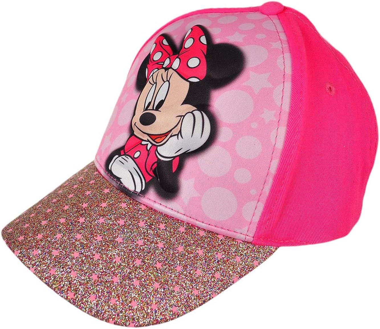JCBD-hat 3D Cartoon Kids Cotton Mini Mouse Adjustable Baseball Cap Girls Hip Hop Hat