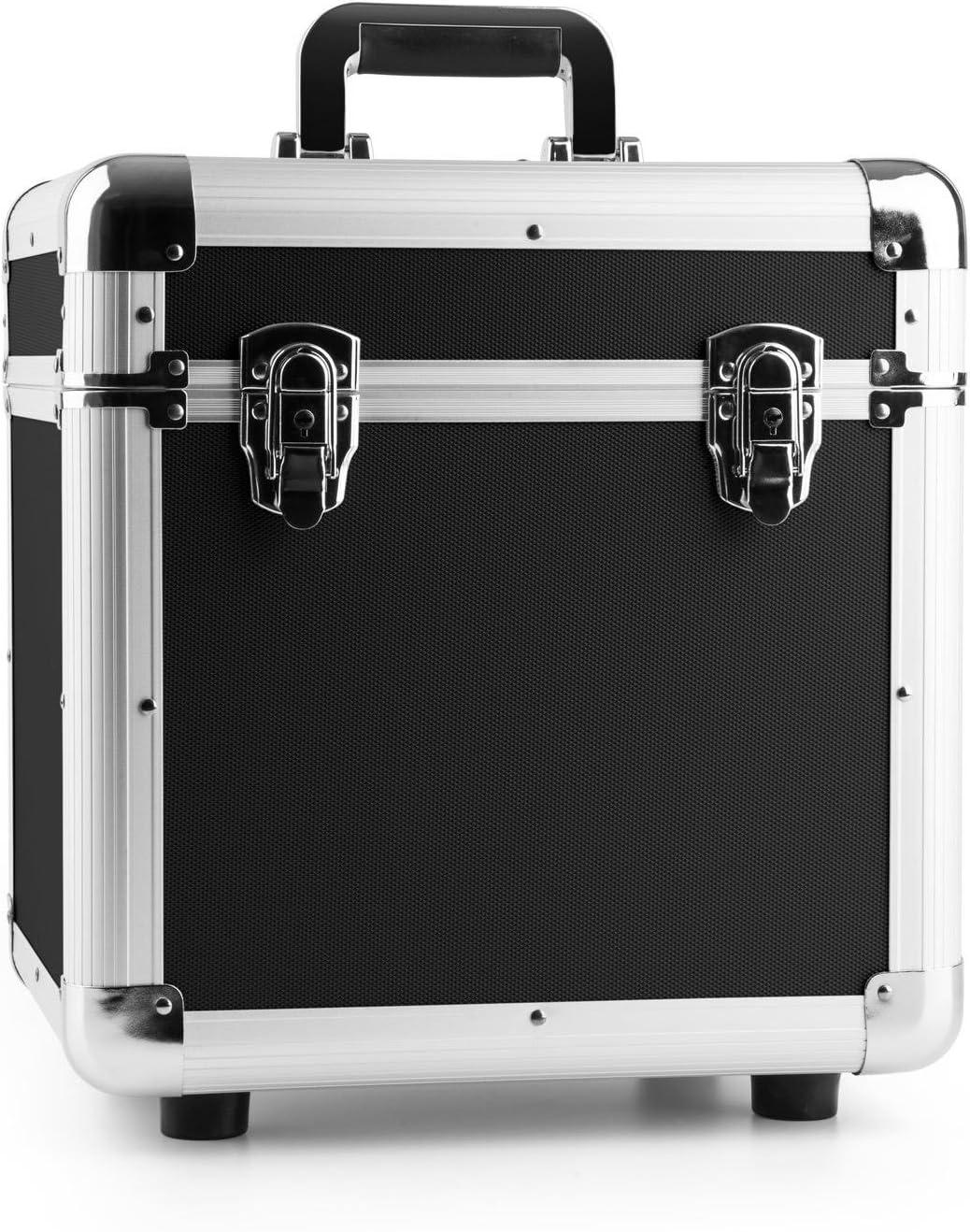 Power Dynamics RC100 Maleta para discos de vinilo (rack portátil para 100 discos LPs de 12