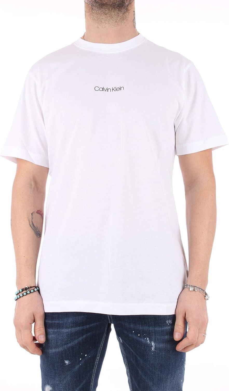 Calvin Klein - Camiseta Blanca con impresión en la Parte Trasera: Amazon.es: Ropa y accesorios