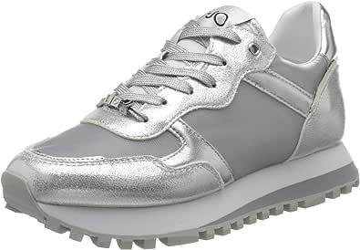 Liu Jo Wonder 2.0 Silver, Zapatillas Mujer