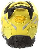 Vibram Women's V Trail Runner, Yellow/black, 37