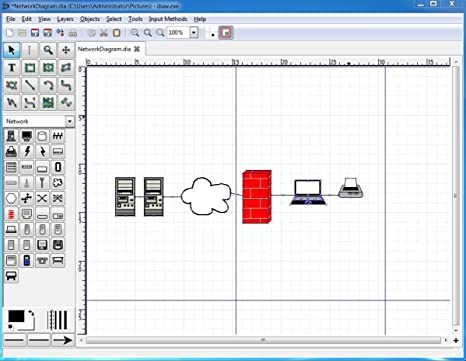 Dia Diagram Editor Powerful Diagram Flowchart Drawing Creation