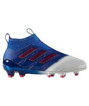 best loved c80eb a0321 adidas Performance Kinder Fußballschuhe Rasen Ace 17+ Purecontroll FG J  BA9218 Blau (296)