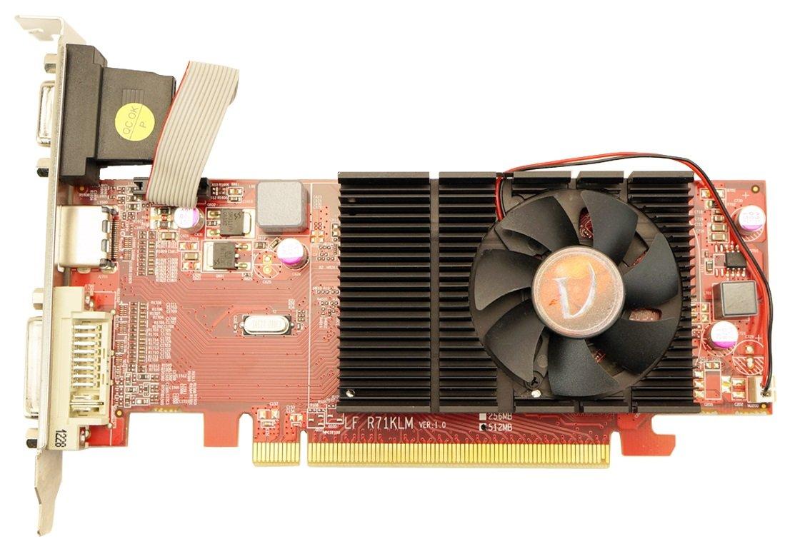 VisionTek Radeon 4350 512MB DDR2 (DVI-I, HDMI, VGA) Graphics Card - 900270