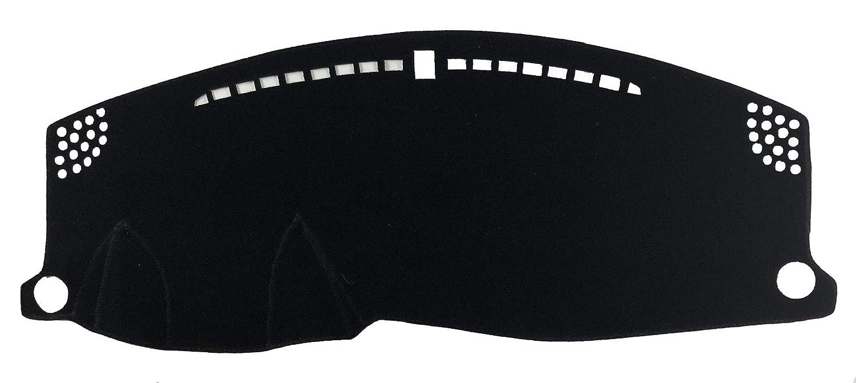 AutofitPro Custom Fit Dashboard Black Center Console Cover Dash Mat Protector Sunshield Cover for 2016 2017 2018 2019 2020 Honda HRV HR-V
