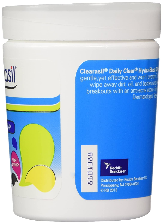 amazon com clearasil ultra rapid action gel wash 6 78 oz