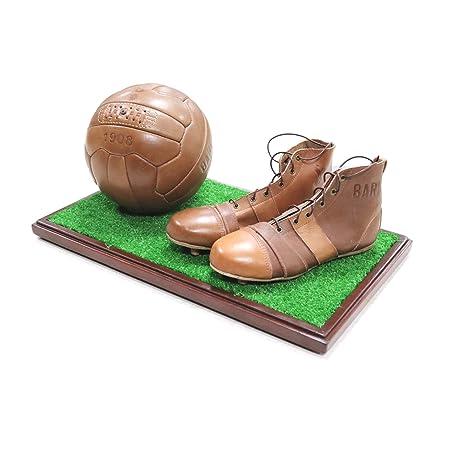 Zeus Kit Vintage Bari Zapatos y balón Bari de Cuero Original ...