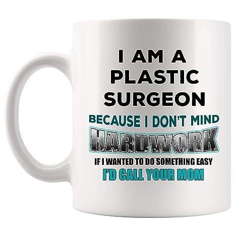 Amazoncom Joke Gag Plastic Surgeon Mug Best Coffee Cup