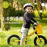 Kinderkraft 德国 儿童平衡车 滑行玩具平衡滑步车 无脚踏小孩学步车2-6岁欧洲同步 (阳光黄)