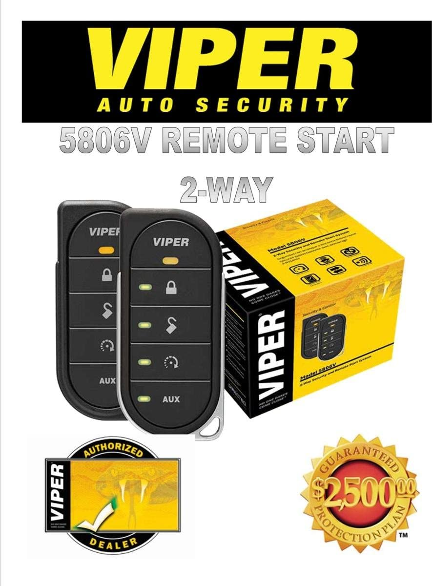 [SCHEMATICS_48DE]  Amazon.com: Viper 5806V 2-Way Security System w/Remote | Viper 5606v Wiring Diagram |  | Amazon.com