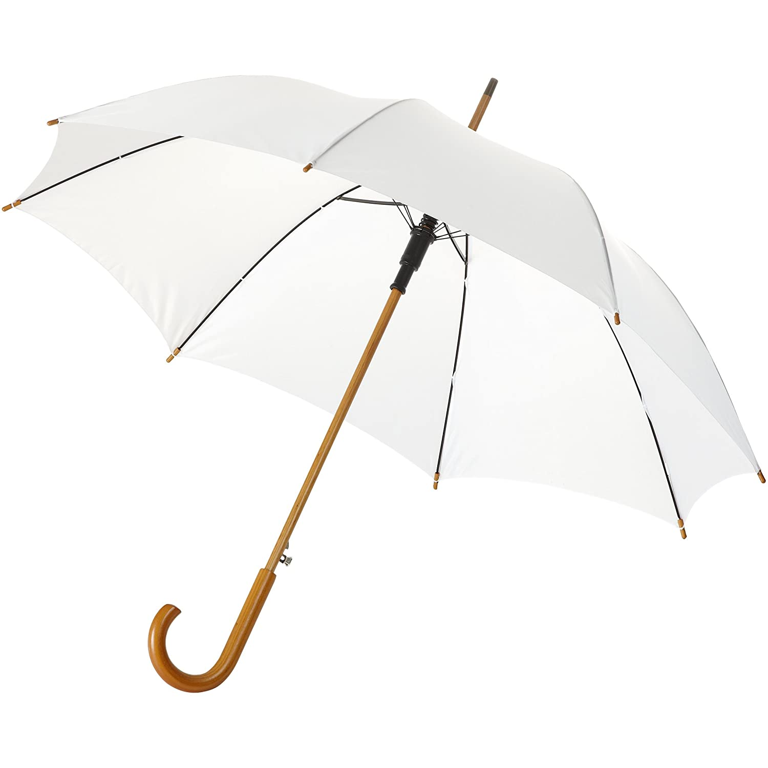 Bullet 23in Kyle Automatic Classic Umbrella (One Size) (White) UTPF910_3