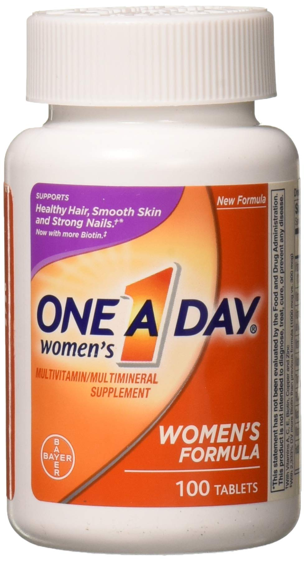 One-A-Day Women's Formula Vitamins, Tablets, 100 ct