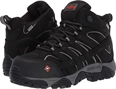 18fe0e2db3 Amazon.com | Merrell Work Women's Moab Vertex Mid Waterproof CT | Hiking  Shoes