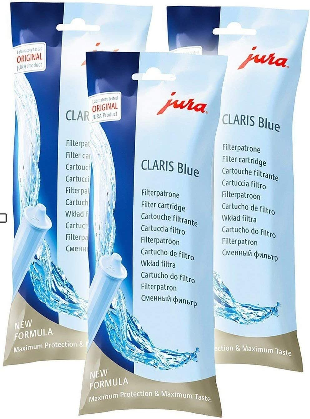 Jura Clearyl/Claris Water Care Cartridge (3 Filters)