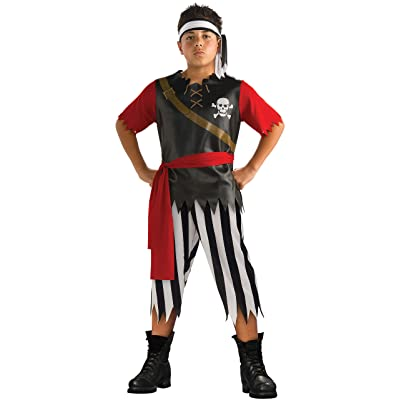 Rubies Halloween Concepts Children's Costumes Pirate King - Large: Toys & Games