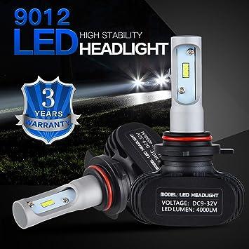 h2racing 1 par sustituir halógenas HID Xenon niebla luz bombillas LED para faros delanteros S1 serie ...