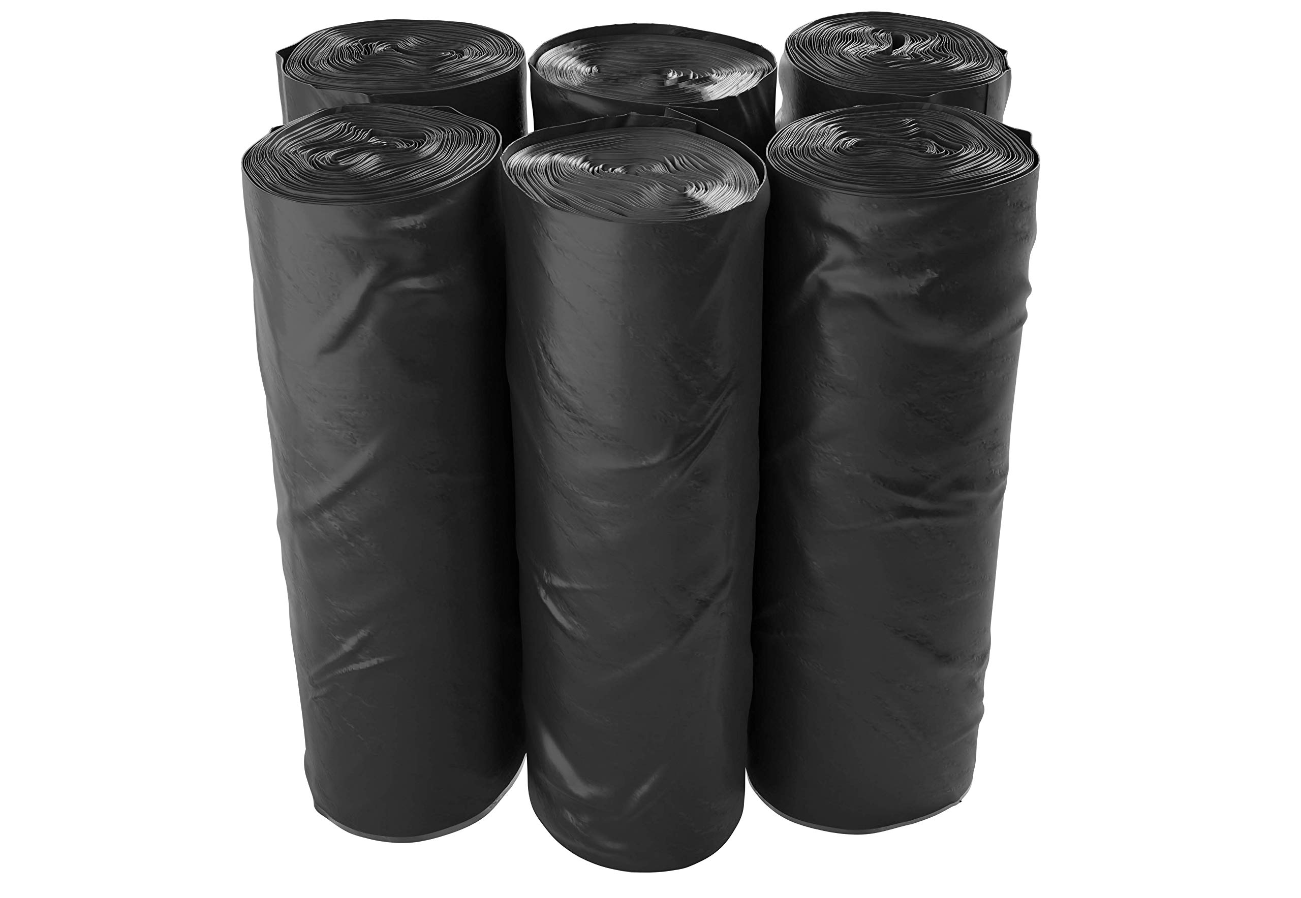 Reli. Premium Thickness Trash Bags, 40-45 Gallon (150 Count) (Black) - Easy Grab Rolls - Can Liners, Garbage Bags with 40 Gallon (40 Gal) to 45 Gallon (45 Gal) Capacity by Reli. (Image #3)
