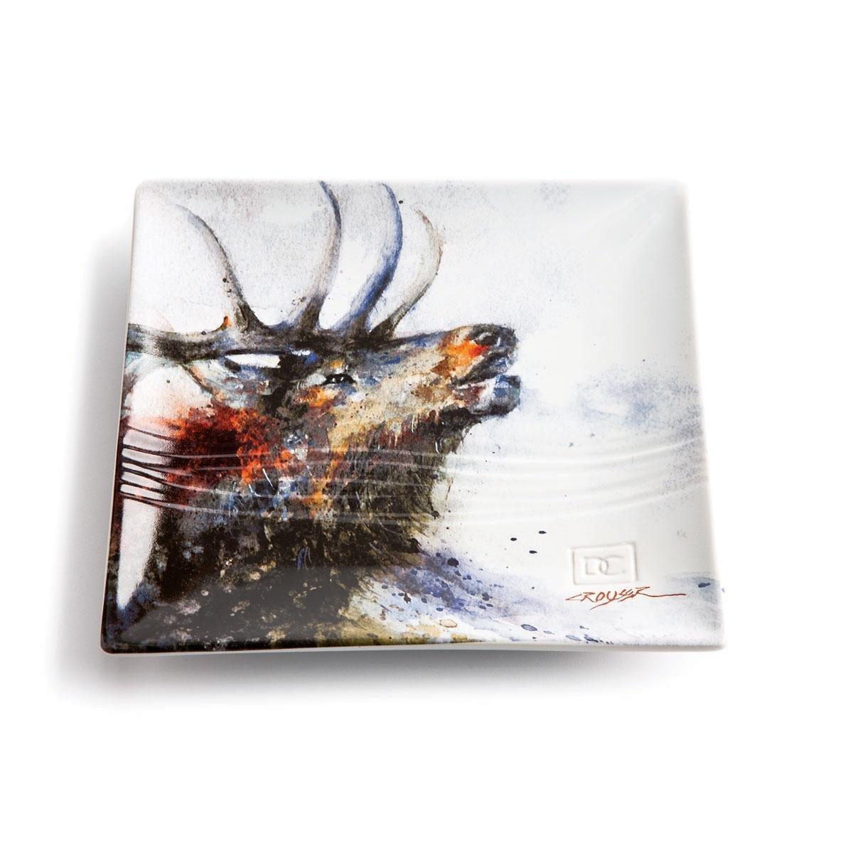 Big Sky Carvers Elk Snack Plate