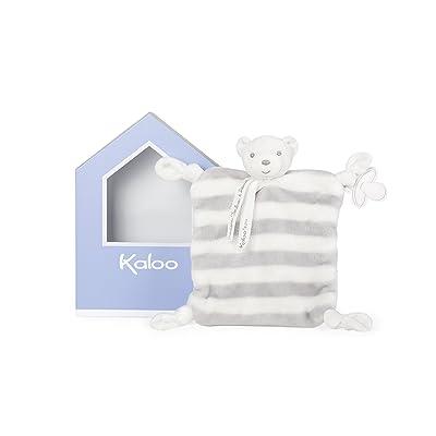 Kaloo Bébé Pastel Ours Doudou Gris/Blanc