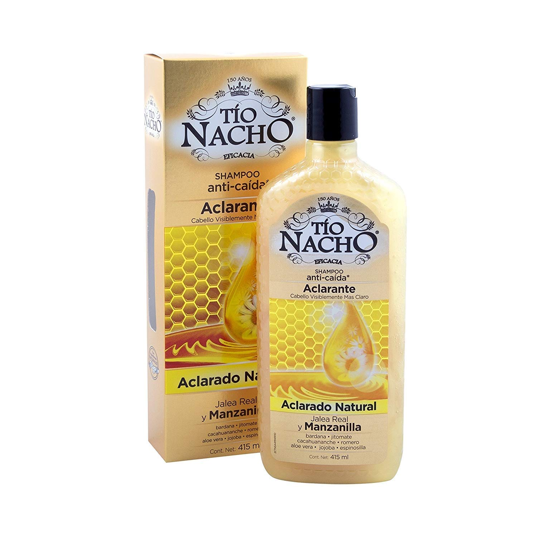 Amazon.com: TIO Nacho Champú anticaida y Aclarante Chamomile ...
