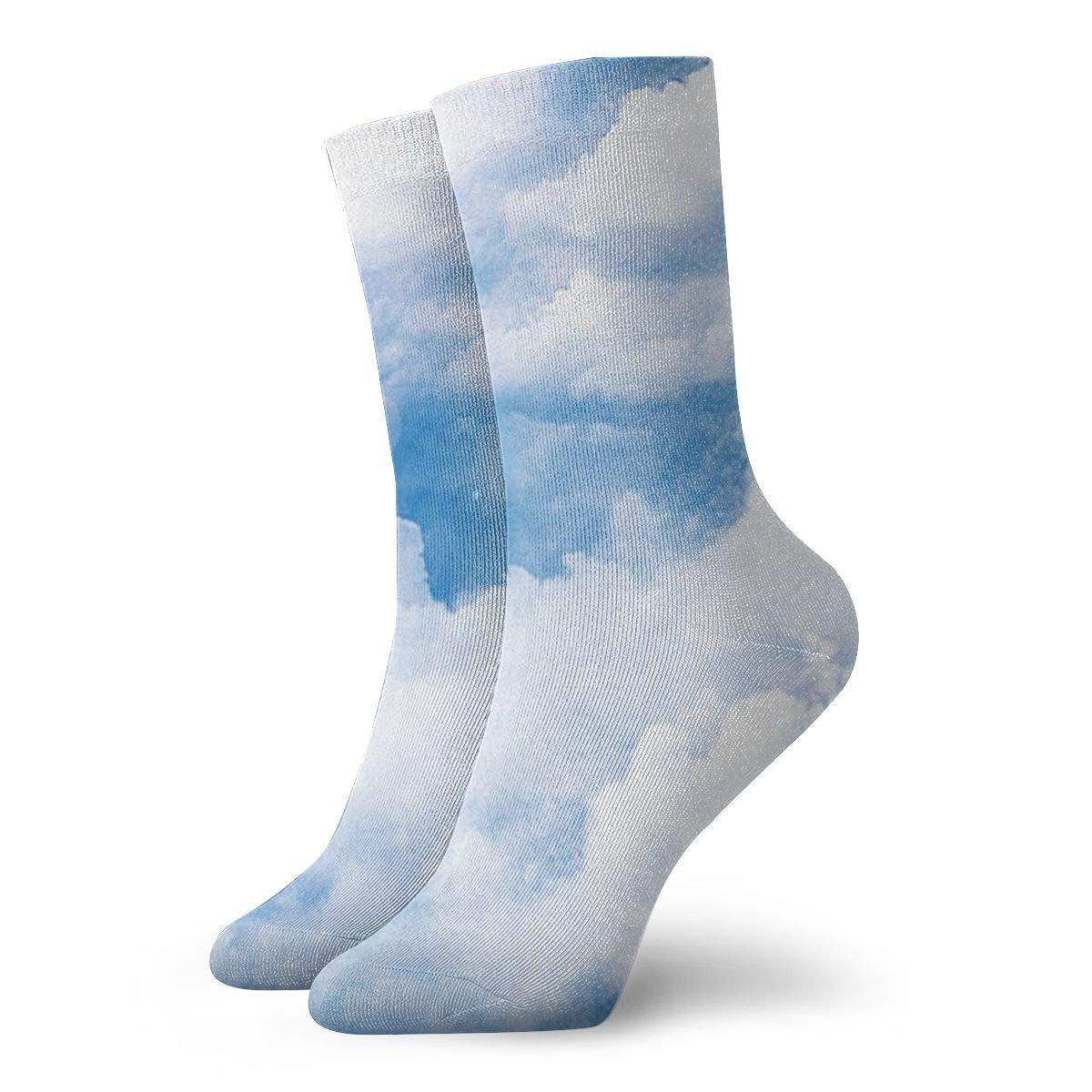 Cloud-sky Unisex Funny Casual Crew Socks Athletic Socks For Boys Girls Kids Teenagers