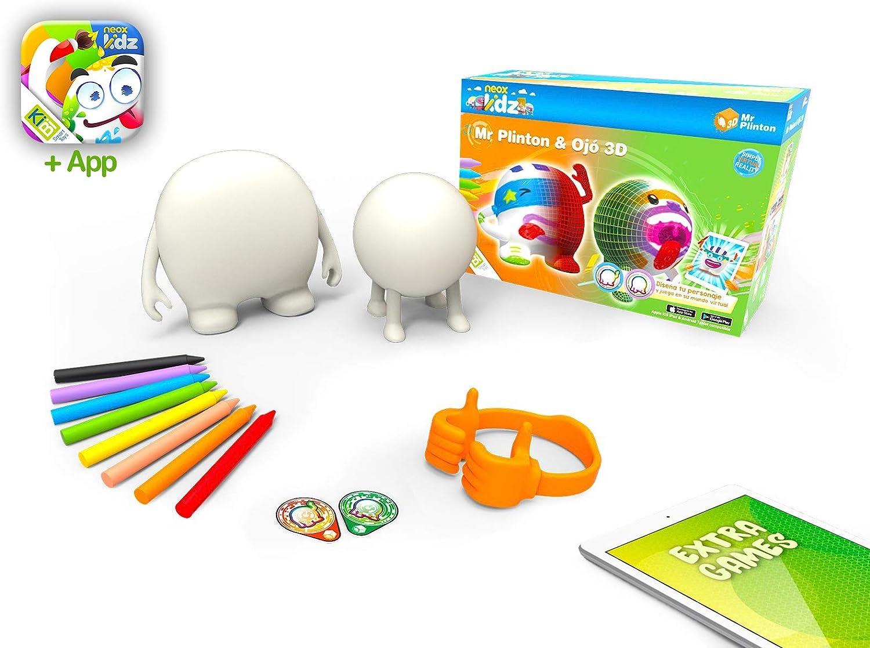 Amazon.es: kibi - Mr Plinton & Ojó 3D - Muñecos para Dibujar y ...