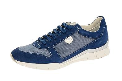 Geox D Sukie A, chaussure de sport femme Multicolore