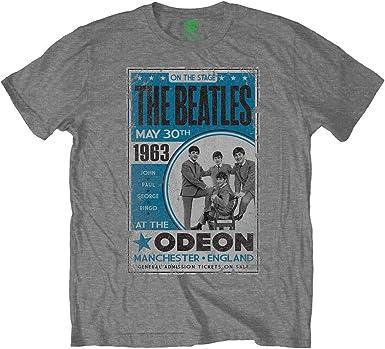Medium Rockoff Trade The Beatles Men/'s White Hooded Hoodie Jacket Grey