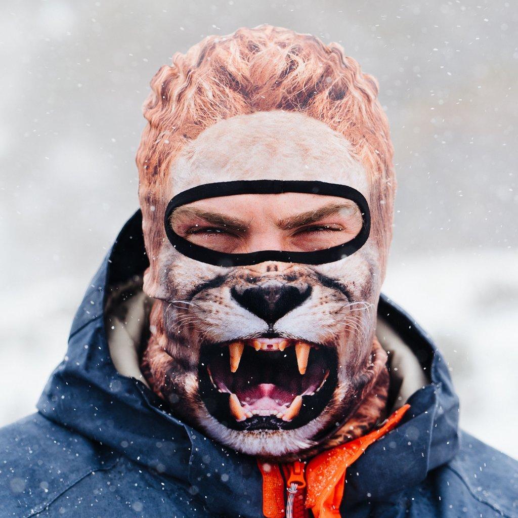 Beardo Balaclava Ski Mask, Lion by Beardo (Image #2)