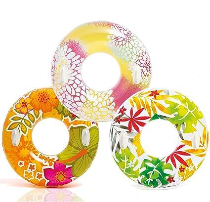 Amazon.com: Intex Groovy color hinchable tropical diseños ...