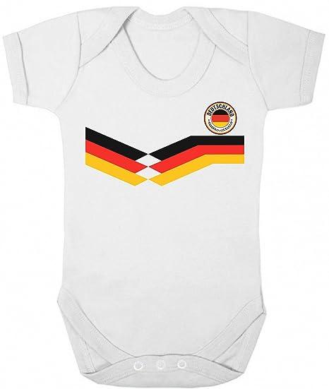 Deutschland Germany World Cup 2018 Babygrow Football Retro
